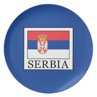 Serbia Plate