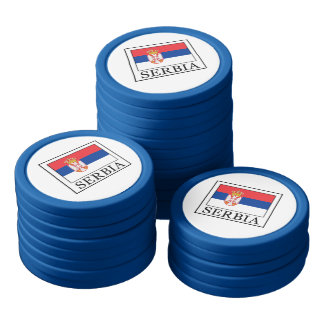 Serbia Poker Chips