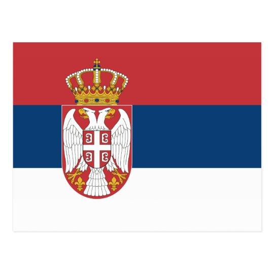 Serbia – Serbian Flag Postcard