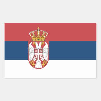 Serbia/Serbian Flag Sticker