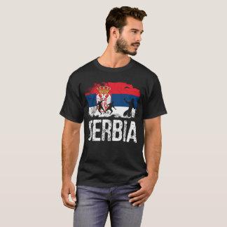 Serbia, Serbian tshirt, Serbian gift, Serbian foot T-Shirt