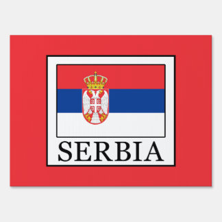 Serbia Sign