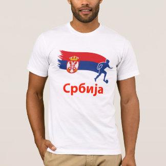 Serbia  Soccer Flag T-Shirt