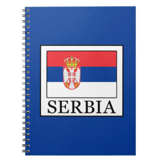 Serbia Spiral Notebook