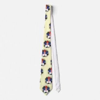 Serbia Star Tie