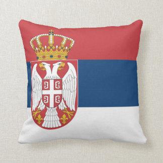 Serbia Throw Pillow
