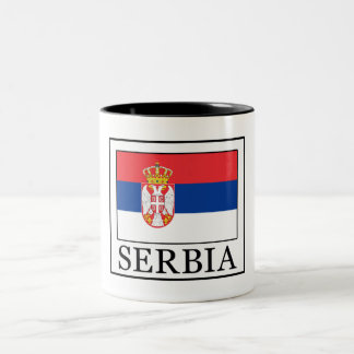 Serbia Two-Tone Coffee Mug