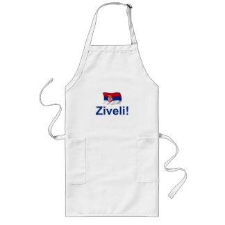Serbia Ziveli! Long Apron