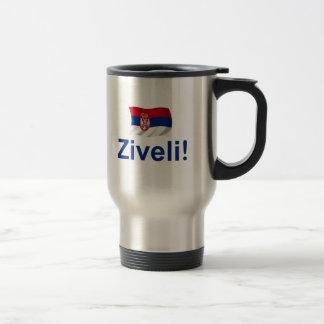 Serbia Ziveli! Travel Mug