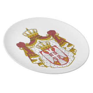 Serbian Coat arms Plate
