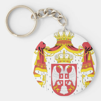 Serbian Coat of Arms Keychain