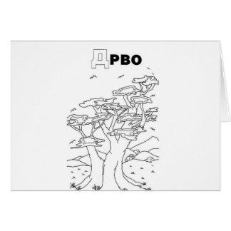 serbian cyrillic tree card
