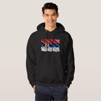 Serbian flag hoodie