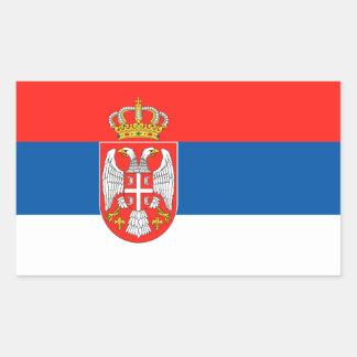 Serbian Flag Sticker