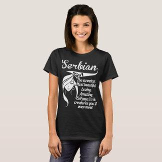 Serbian Girl The Sweetest Creatures Ever Meet T-Shirt