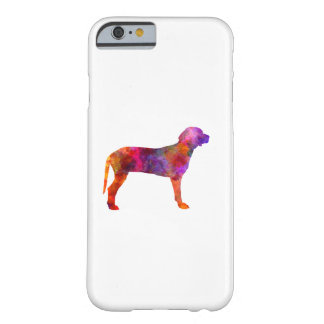 Serbian Hound in watercolor Barely There iPhone 6 Case