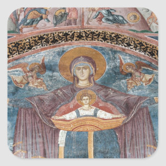 Serbian Orthodox Church, and a UNESCO site, 2 Square Sticker