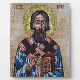 Serbian Orthodox Saint Sava Icon/Plaque Plaque