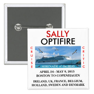 Serenade of the Seas Name Tag Button