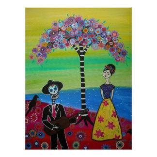Serenading  Day of the Dead Poster