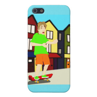 Serenading Skateboarding Dude iPhone Case Case For The iPhone 5