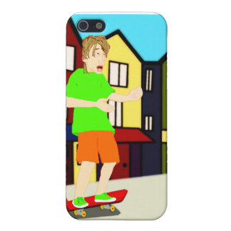 Serenading Skateboarding Dude iPhone Case iPhone 5/5S Cover