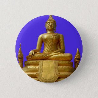 Serene and beautiful Buddha design 2 Inch Round Button