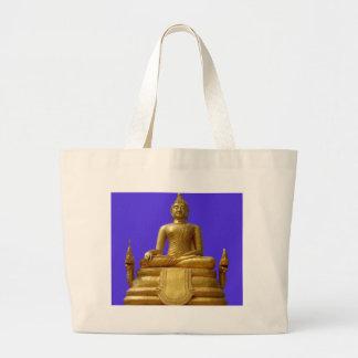 Serene and beautiful Buddha design Large Tote Bag