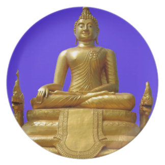 Serene and beautiful Buddha design Plate