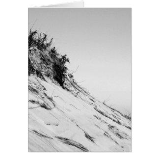 Serene Beach Dune Greeting Card (Blank Inside)