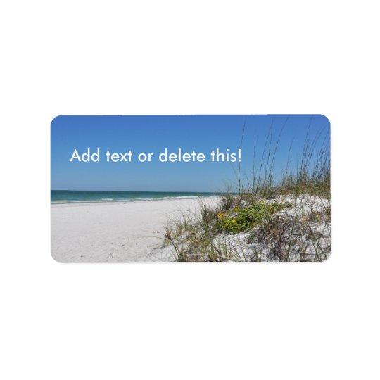 Serene Beach Sea Oats 2 Florida Beach Scene