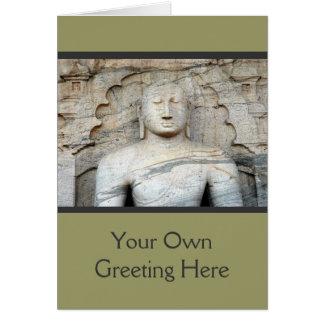 Serene Buddha Image Card