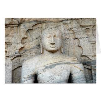 Serene Buddha Image Cards