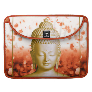 Serene Buddha macbook sleeve