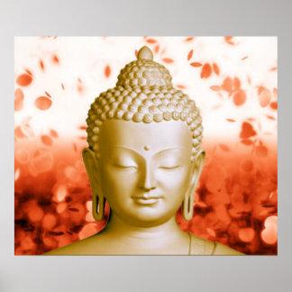 Serene Buddha poster