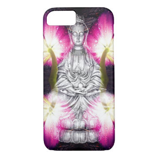 Serene Buddha & Tulips Case-Mate iPhone Case
