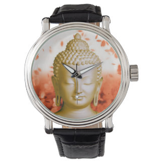 Serene Buddha watch