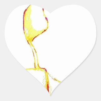 Serene Exodus Heart Sticker