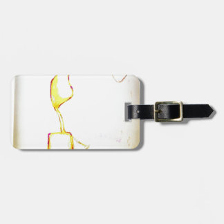 Serene Exodus Luggage Tag