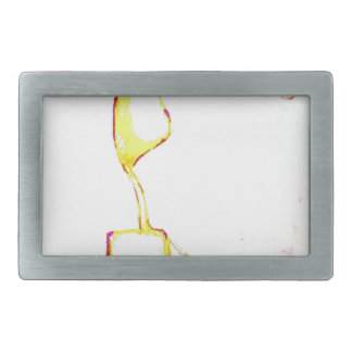 Serene Exodus Rectangular Belt Buckle