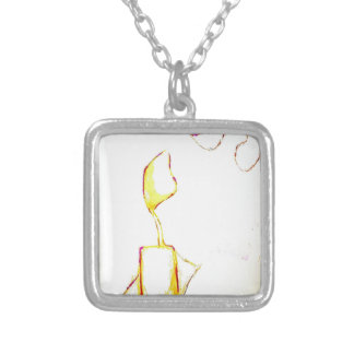 Serene Exodus Silver Plated Necklace
