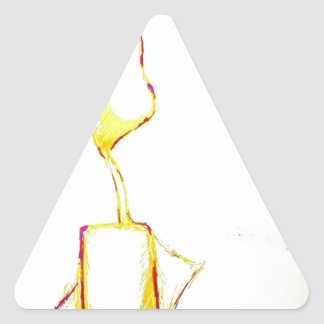 Serene Exodus Triangle Sticker
