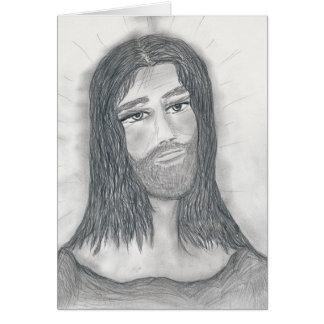 Serene Jesus Card