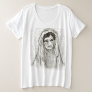 Serene Mary Plus Size T-Shirt