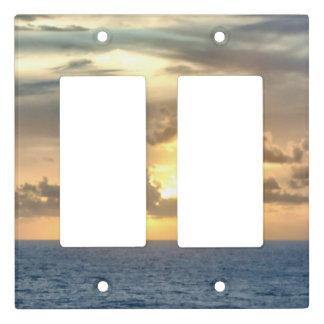 Serene Ocean Sunrise Light Switch Cover