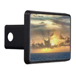 Serene Ocean Sunrise Trailer Hitch Cover