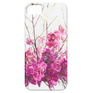 Serene Pink Phalaenopsis Orchid Case For The iPhone 5