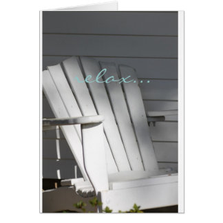 Serene Porch Card