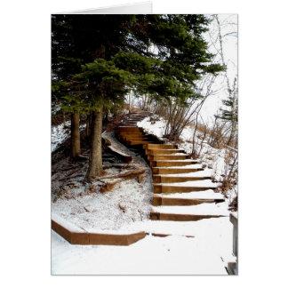 Serene Stairway Card