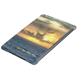 Serene Sunrise Personalized iPad Air Case
